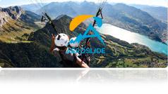 A?slide - Parapente au lac d'Annecy