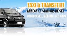 Taxi Transfert aeroport Gen? vers stations de ski