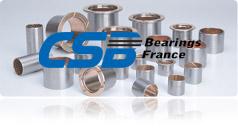 CSB Bearings France, Bague autolubrifiante et palier lisse