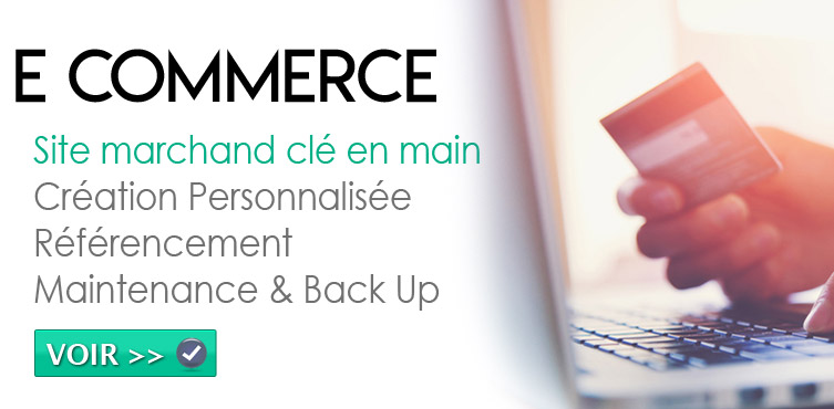 Creation site ecommerce Annecy