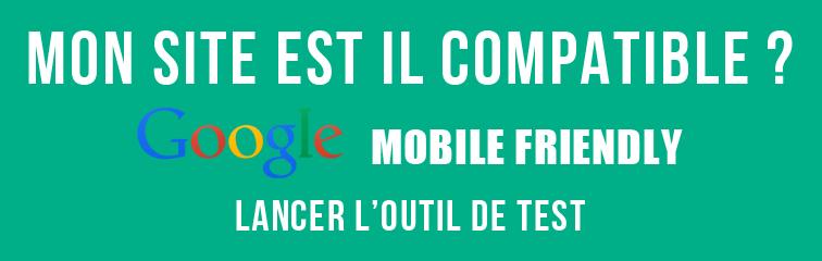 Site compatible mobile le test